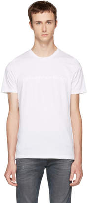 Diesel Black Gold White Abstraction T-Shirt