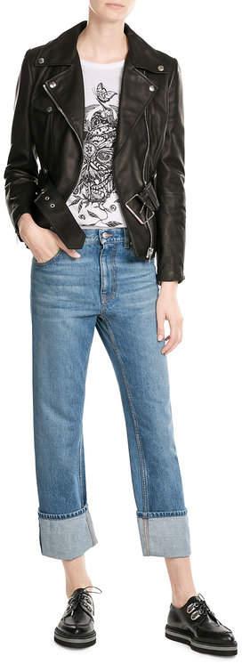 Alexander McQueenAlexander McQueen Turn Up Boyer Jeans