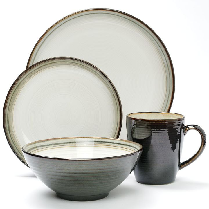 Sango jetta 16-pc. dinnerware set