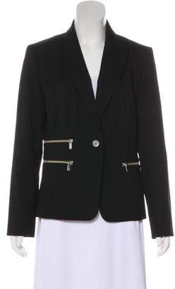 MICHAEL Michael Kors Wool Printed Blazer