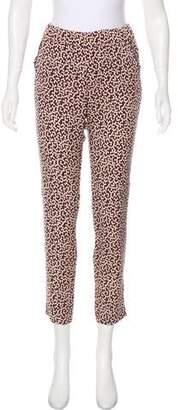 Piamita Mid-Rise Silk Pants