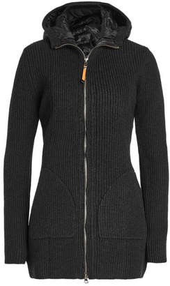 Parajumpers Wool-Cotton Jacket with Down Filling