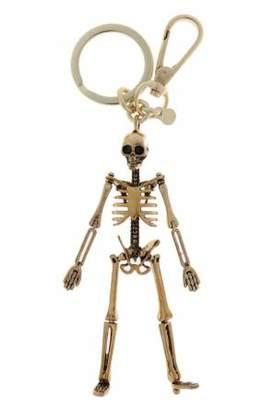 Alexander McQueen Skull Keyring