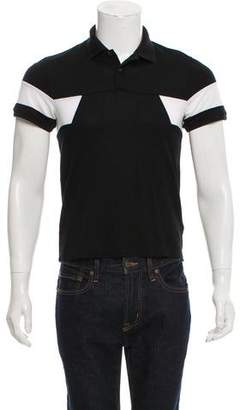 Moncler Button-Up Polo Shirt