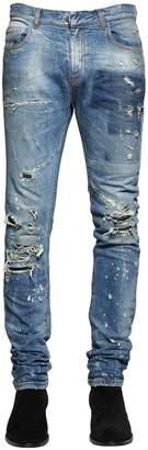 Faith Connexion 17cm Slim Fit Distressed Denim Jeans
