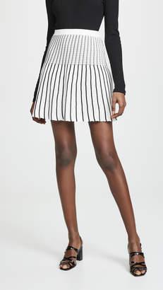Sonia Rykiel Striped Knit Miniskirt