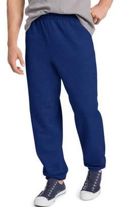 Hanes Big & Tall Men's EcoSmart Elastic Bottom 32 Inch Inseam Sweatpants