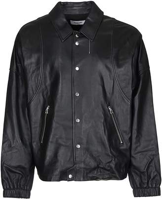Helmut Lang Coach Leather Jacket