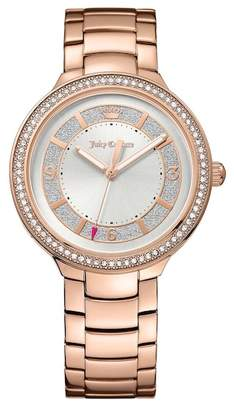 Juicy Couture Women's Catalina Crystal Bracelet Watch $250 thestylecure.com