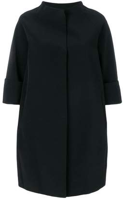 Gianluca Capannolo funnel neck cropped sleeve dress