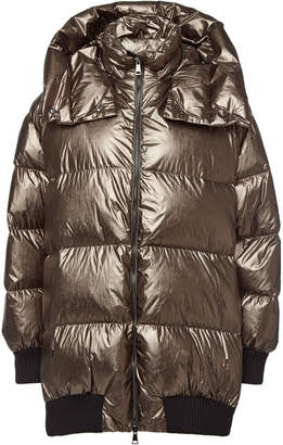 Moncler Verdier Down Jacket with Zipped Sides