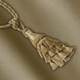 Elrene Home Fashions Charlotte Tassel Curtain Tieback