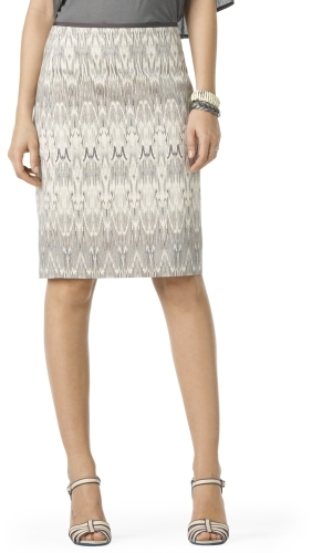 Penny Printed Pencil Skirt