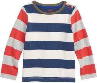 Boden Mini Stripy Hotchpotch T-Shirt