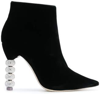 Sophia Webster Coco Crystal boots