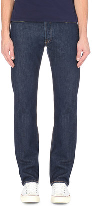Levi's 501 Original regular-fit straight jeans $69 thestylecure.com