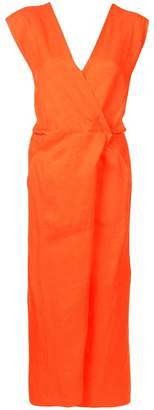 Zero Maria Cornejo V-neck sleeveless dress