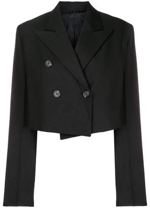 Helmut Lang classic cropped blazer