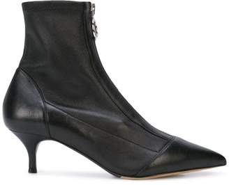 Tabitha Simmons zip-up boots
