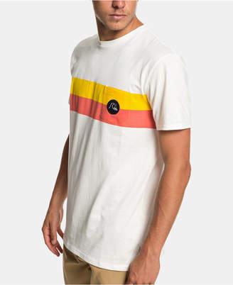 Quiksilver Men Stripe T-Shirt