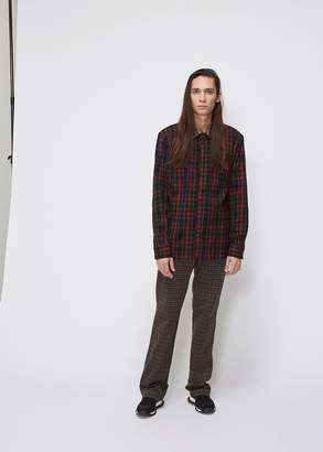 Marni Overcheck Flannel Shirt