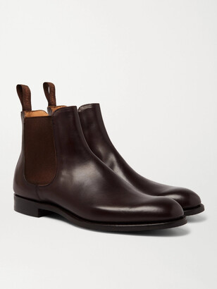 Cheaney Godfrey Leather Chelsea Boots - Men - Brown