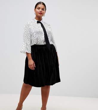 9adb9b6cd9 Velvet Pleated Skirts - ShopStyle UK