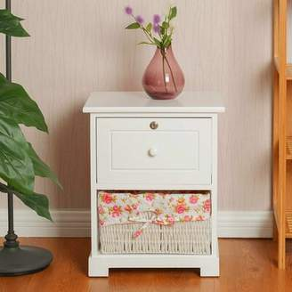 August Grove Vesta 1 Drawer Nightstand August Grove
