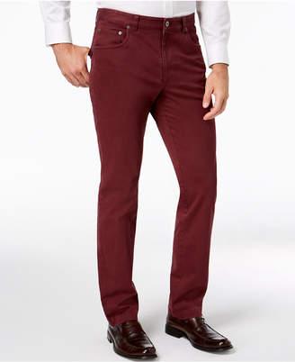 Tasso Elba Men Classic-Fit Stretch Pants