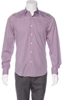 Valentino Gingham Print Shirt