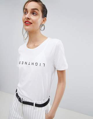 Selected Slogan T-Shirt