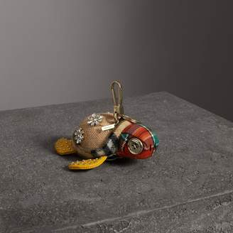 Burberry Beatrice The Turtle Cotton Charm