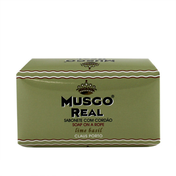 Musgo Real Lime Basil Soap on a Rope