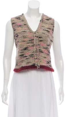 Chanel Wool Sweater Vest