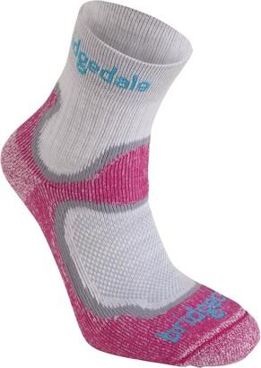 Bridgedale Trail Sport Lightweight T2 Merino Cool Comfort Multi 3/4 Crew Sock - Women's
