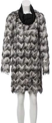 MS MIN Long Sleeve Midi Dress