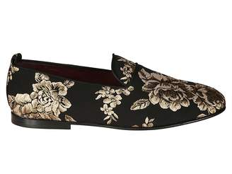 Dolce & Gabbana Embroidered Loafers