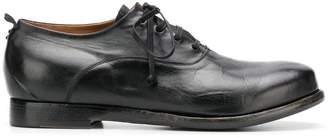 Silvano Sassetti creased lace-up shoes