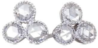 Couture SETHI Three Diamond Stud Earrings