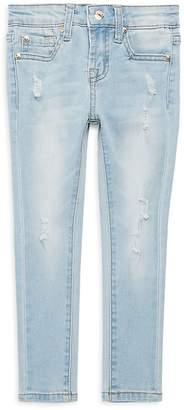 7 For All Mankind Little Girl's Faded Jeans