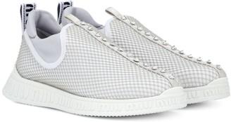 Miu Miu Crystal-embellished sneakers