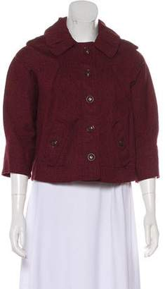 Marc by Marc Jacobs Button-Up Pea Jacket