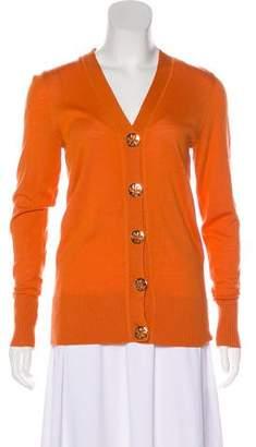 Tory Burch Long Sleeve Wool Cardigan