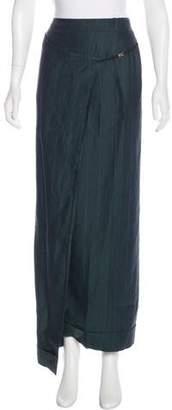 Gianfranco Ferre Linen Wrap Skirt