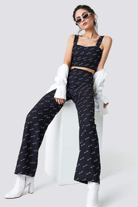 NA-KD Na Kd Trend Logo Loose Fit Pants