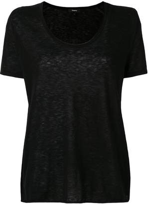 Theory round neck T-shirt