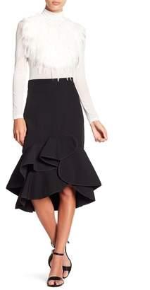 Gracia Hi-Lo Ruffle Skirt