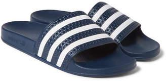 adidas Adilette Textured-Rubber Slides