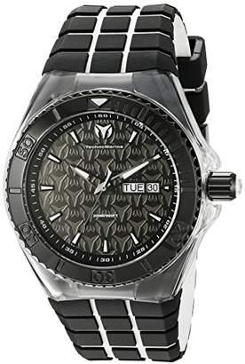Technomarine Men's TM-115182 Cruise Locker Analog Display Swiss Quartz Two Tone Watch