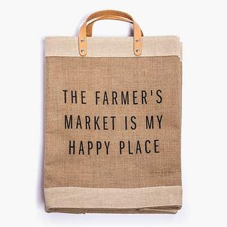 Apolis ApolisTM The Farmer's Market Is My Happy Place market bag
